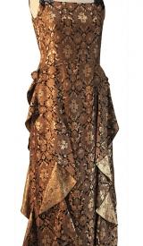 Kleid Brokat 1920er Jahre
