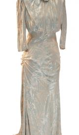 Kleid Jahrhundertwende creme