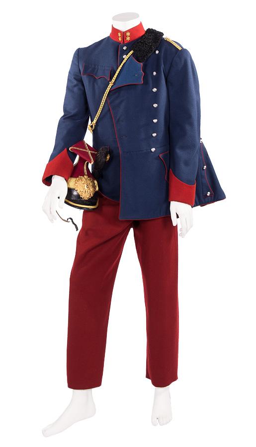 K.u.K. Landwehr Ulanen-Uniform mit Helm