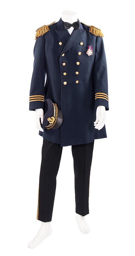Uniform K.u.K. Marine Offizier mit Mütze