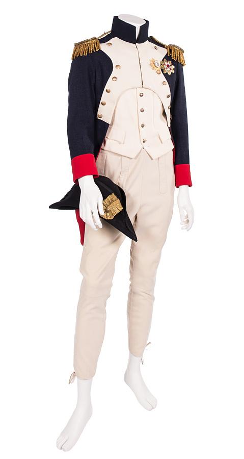 Napoleon Kaisergrade-Uniform um 1805 mit Zweispitz