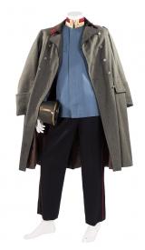 K.u.K. Generalsuniform mit Kappe und Mantel