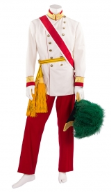kaiserliche Gala-Uniform K.u.K.-Zeit mit Zweispitz mit Straußenfedern